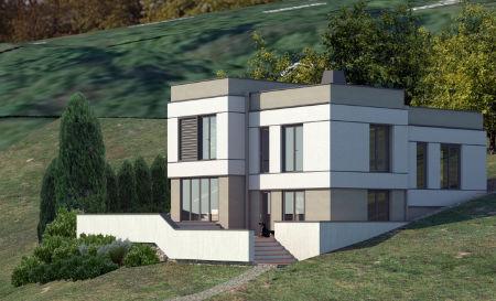 Porodična kuća na brdu u Beogradu