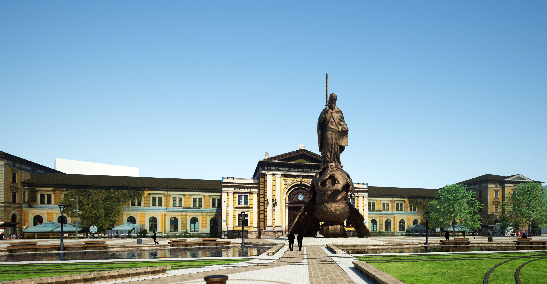 Saurus-Grad-Beograd-Konkurs-Savski trg-08